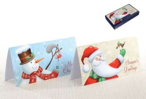 20 Tom Smith Luxury Christmas Cards Santa